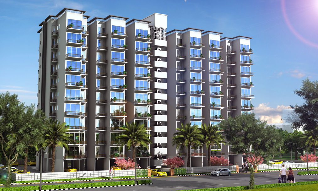 Raheja_KRISHNA_HOUSING_Front_View