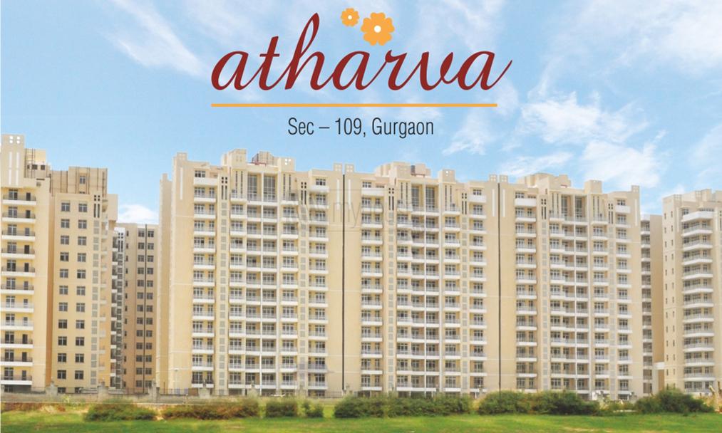 Raheja_ATHARVA_Front_View_-_Sector-109,_Dwarka_Expressway-NPR