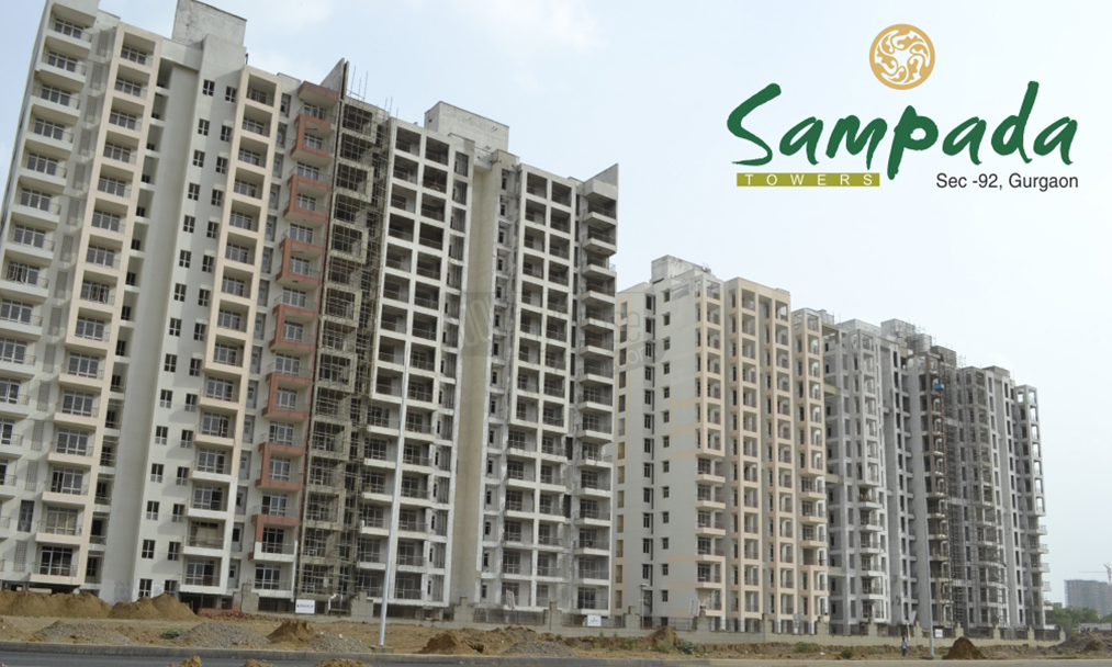 Raheja_SAMPADA_Project_Front_View_-_Sector-92,_New_Gurgaon