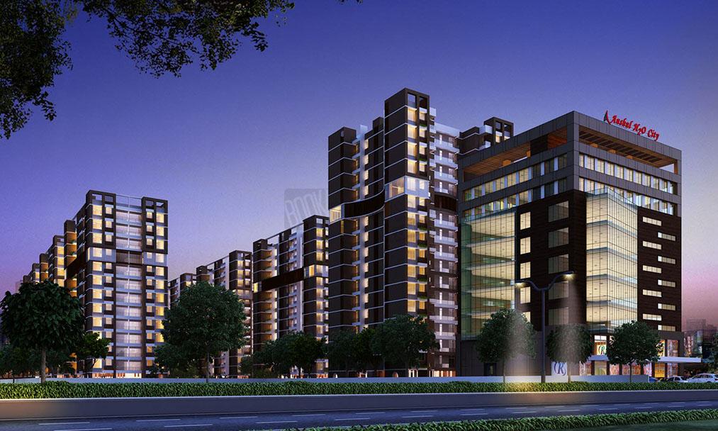 Anshul_Homes_H20_city_Danapur_Patna_side_view