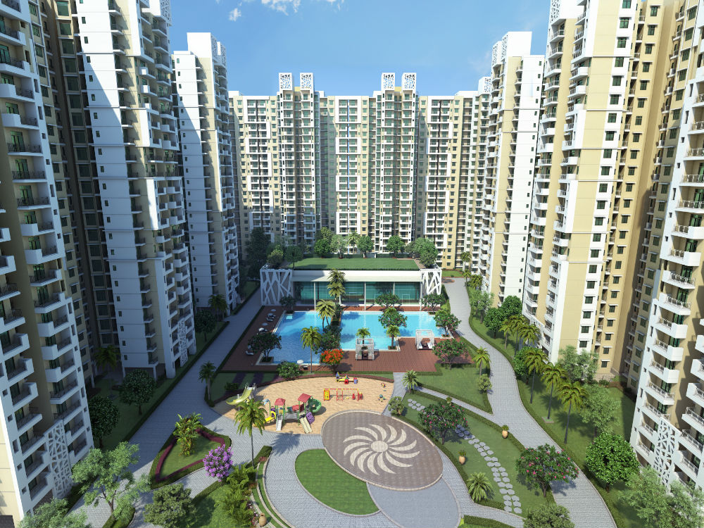 Mahagun mywoods my woods noida extension by mahagun for Architecture design for home in noida