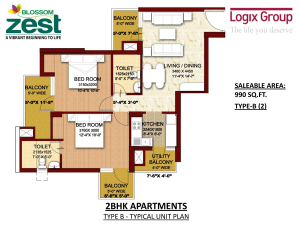 Logix Blossom Zest Luxury Apartments in Sector-143, Noida