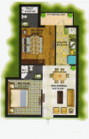 Kalka_ROYAL_RESIDENCY_Floor_Plan_2BHK__820_Sqft